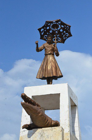 Monumento Leyenda del Caiman